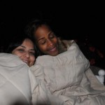 Cheryl and Tracey- California Gals were Cold!