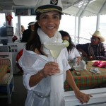 Susan looking lovely in yachting gear